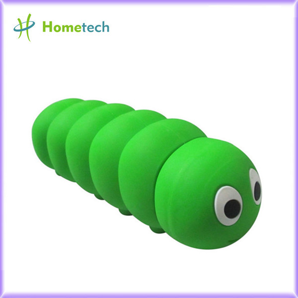 2600 mAh Cartoon Caterpillars Shaped Mini P