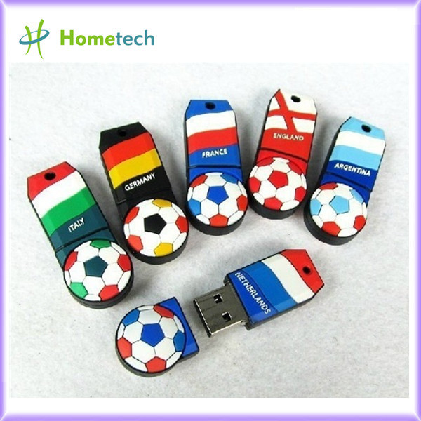 <b> Wholesale Football team USB drive, pendrives 8GB / 16GB/4GB</b>