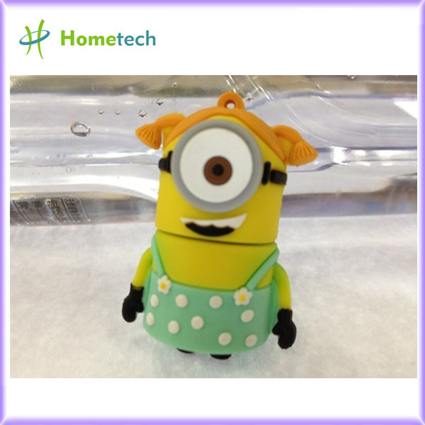 <b> Cartoon Minions USB 2.0 Memory Stick Flash Drive</b>
