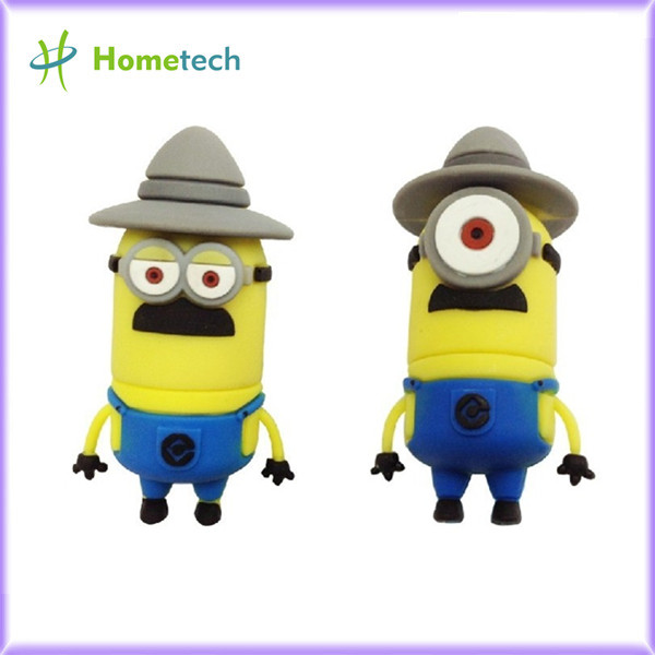 <b>Minons Memory Stick Pen Thumb cute, Double or single eyes,</b>