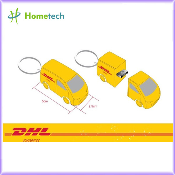 4GB Promotion Gift Cartoon DHLTruck Customi