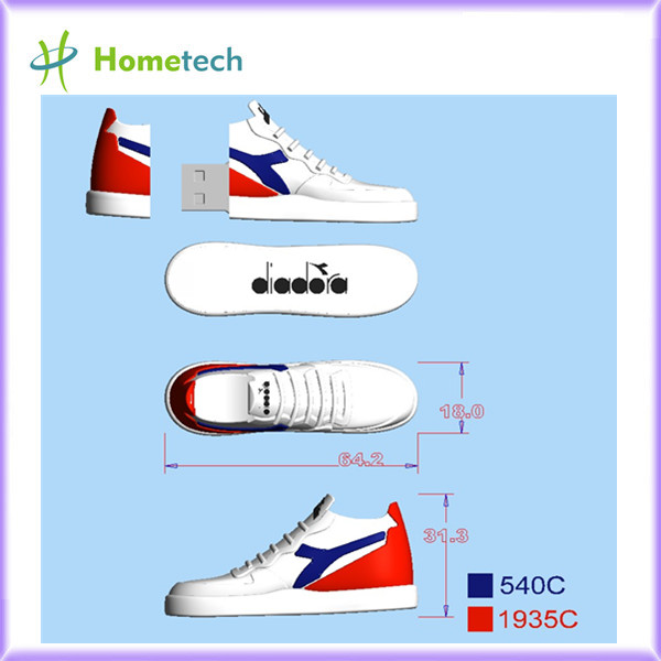 4GB / 8GB Promotional Sport Shoe Shaped USB