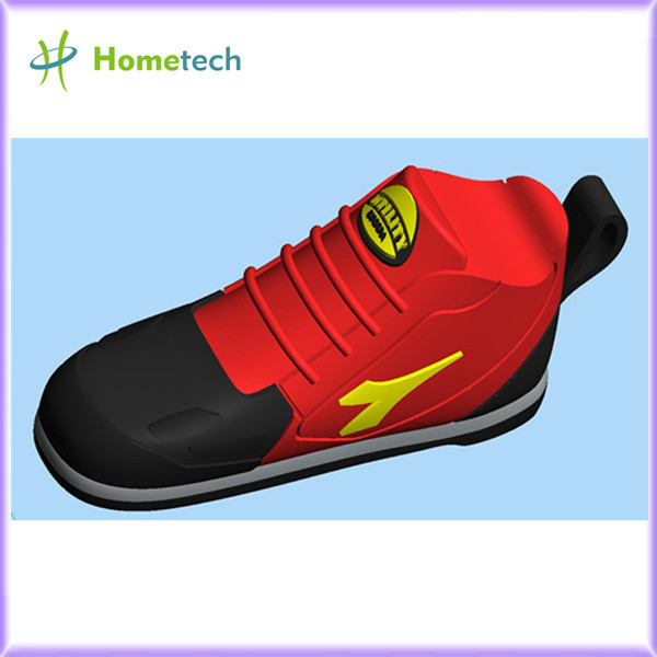 RED Sport Shoes Shape USB Flash Drive Pen D