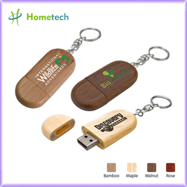 <strong>Custom Eco-friendly Wooden USB Flash Drives</strong>