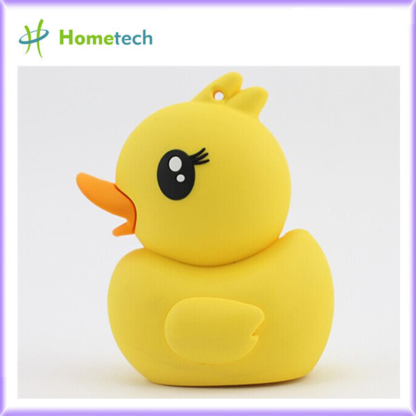 Rubber Ducky Yellow Custom Portable power b
