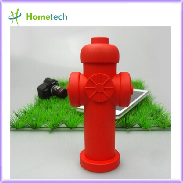 Custom Fire hydrant shape power supply PVC