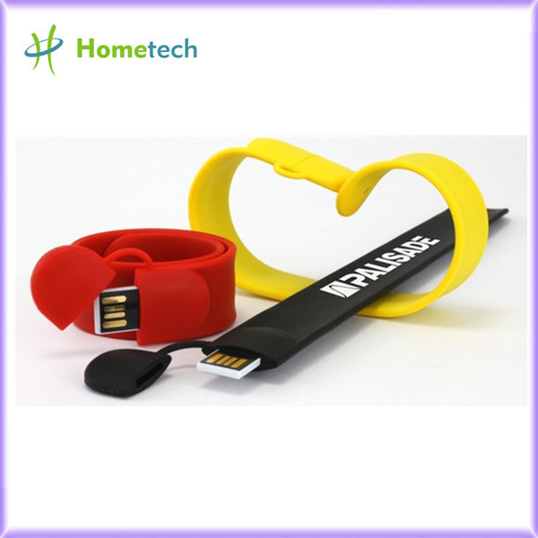 Silicone Slap Wristband USB Flash Drive