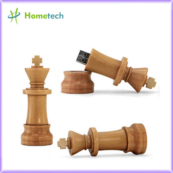 Wood Chess USB 2.0 usb flash drives thumb p
